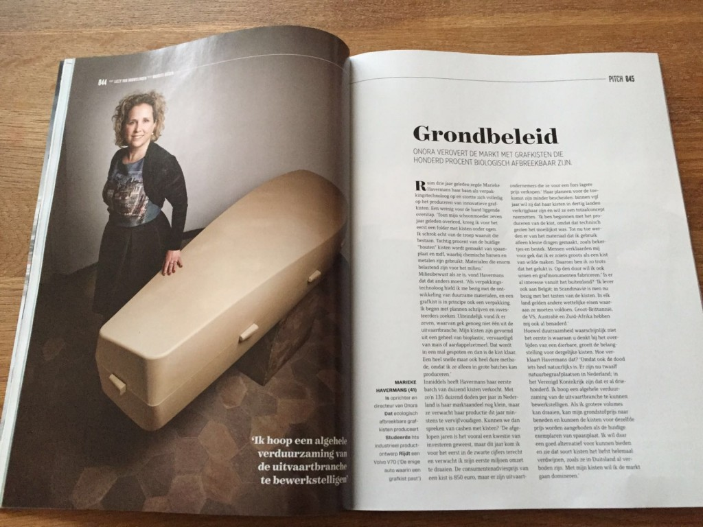Mooi artikel in Quote magazine